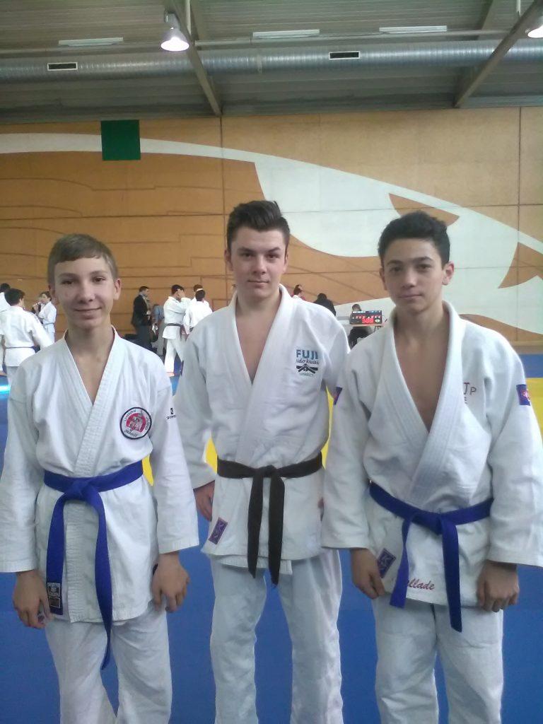 Championnat territorial UGSEL de judo