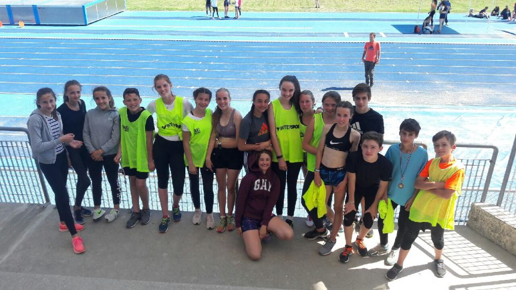 les championnats de France à Lyon