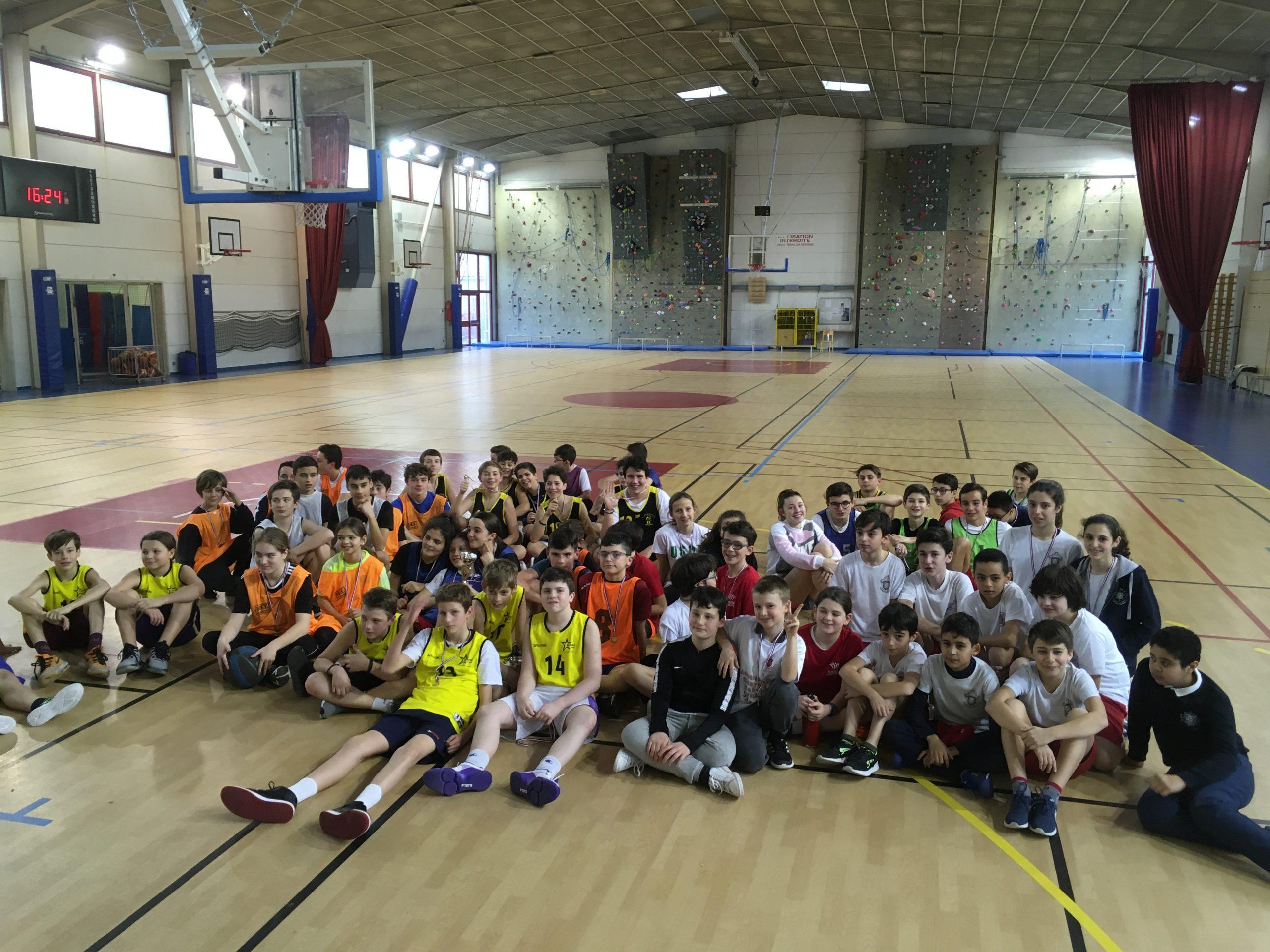 basketteurs du Vaucluse pour les départementaux