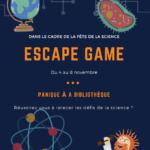 Fête de la science, immense succès pour l'Escape Game !